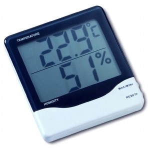 HYGROMETER ROOM THERMOMETER